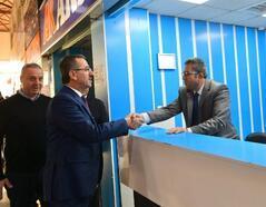 Başkan Güngör, terminal esnafını ziyaret etti