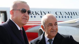 Cumhurbaşkanı Erdoğan Cezayir'de!