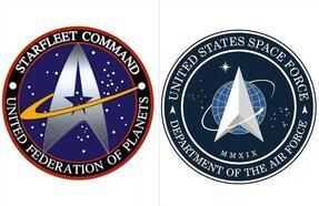 ABD Uzay Kuvveti'nin yeni logosu Star Trek'e olan benzerliği ile ilgi topladı!