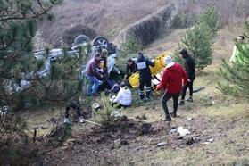 Düzce'de kaza: 9 yaralı