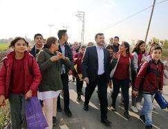 İncirlik Cumhuriyet Mahallesi okul yolu asfaltlandı