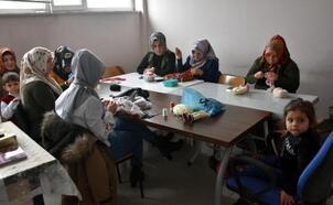 Bitlis Belediyesi'nin kadınlara yönelik açtığı kurslara yoğun ilgi