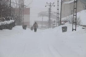 Karlıova'da kar esareti; açılan yollar 1 saat sonra yeniden kapanıyor