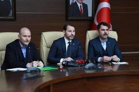 Bakan Albayrak: Elazığ ve Malatya'daki esnafa faizsiz kredi verilecek