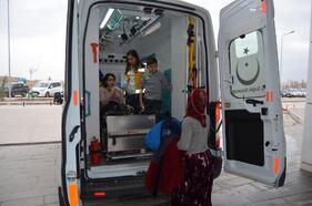Aksaray'da sobadan zehirlenen 6 kişi tedaviye alındı