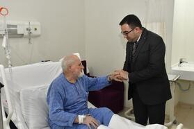 Başkan Erdoğan, hasta vatandaşları yalnız bırakmıyor