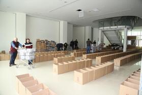 Çankırı'dan deprem bölgesine 10 ton yardım