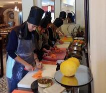 Hatay'da 'Ege-Antakya Füzyon Mutfağı'Workshop uygulaması