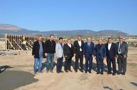 Mut OSB'de trafo inşaatına başlandı