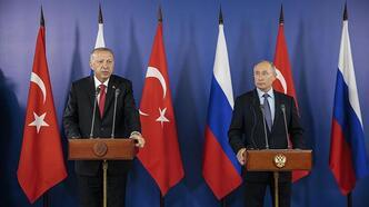 Son dakika haberi... Cumhurbaşkanı Erdoğan Putin ile görüştü