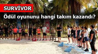 Survivor'da ödül oyununu hangi takım kazandı? Survivor 2020 - 4. bölümde ödül ne verildi?
