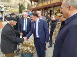 Vali Balcı'dan esnaf ziyareti