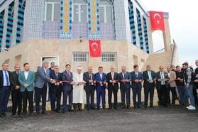 Filistin'de bulunan Kubbet-us-Sahra camisinin benzeri, Reyhanlı'da ibadete açıldı