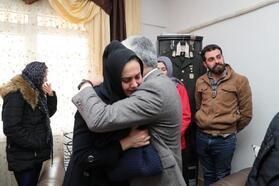 Vali Doğan'dan İdlib şehidinin ailesine taziye ziyareti
