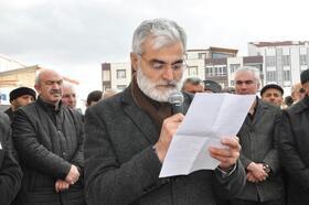 Sorgun'da Bahar Kalkanı Harekatı'na destek