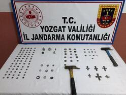 Yozgat'ta 114 parça tarihi eser ele geçirildi, 2 gözaltı