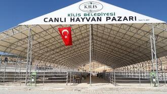 Kilis'te Canlı Hayvan Pazarı kapatıldı