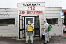 Tuzla'da dezenfekte çalışmaları devam ediyor