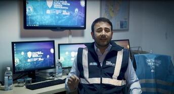 Beşiktaş'ta 'Halk Sağlığı Dijital Yönetim Merkezi' hizmete başladı