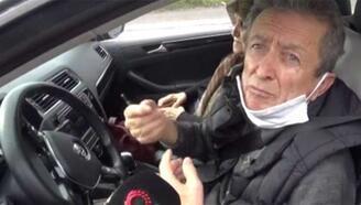 Otomobiliyle seyahat eden 76 yaşındaki adamdan ilginç savunma
