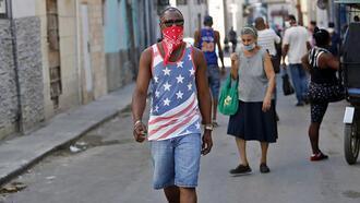 Havana'da corona virüs önlemleri
