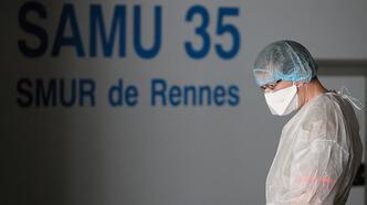 Son dakika haberi... Fransa'da corona virüsten ölenlerin sayısı 8 bini aştı