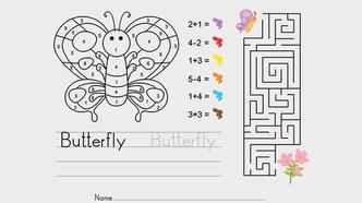Çıkış yolunu bulma oyunu: Kelebeği çiçeğe ulaştır!