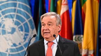 Guterres'ten BMGK'ye covid-19'a karşı birlik ve mücadele çağrısı