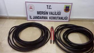 Mersin'de çaldılar, Adana'da tutuklandılar