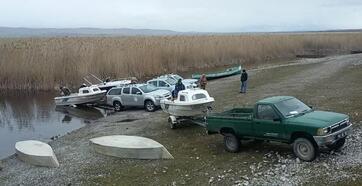 Karamık Gölü'nde kaçak av operasyonu