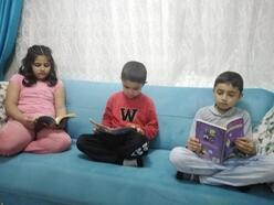 Gercüş'te öğrenciler için evde kitap okuma etkinliği