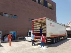 Kızılay'dan sağlık çalışanlarına hijyen paketi desteği