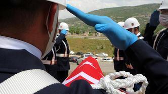 Kaza kurşunuyla ölen uzman çavuş, Tokat'ta toprağa verildi