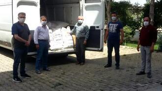 Gediz'de 80 çiftçiye korunga tohumu dağıtıldı