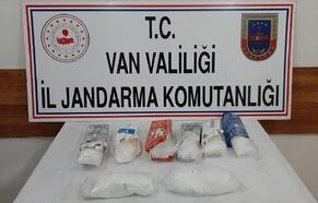 Van'da arazide 5 kilo uyuşturucu ele geçirildi