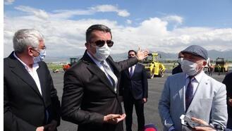 Vali Memiş: Havalimanı bitmezse mesleğimi yapamam