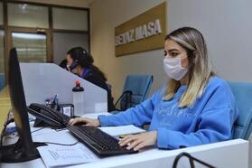 Bursa Büyükşehir Belediyesi çağrı merkezi pandemi de yoğun mesai harcadı