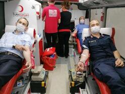 Pozantı Kaymakamı Sarıdoğan kan bağışında bulundu