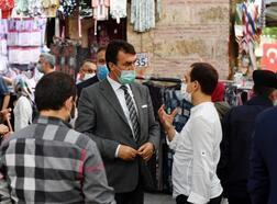 Osmangazi Belediyesi tarihi çarşıda restore çalışmalarını sürdürüyor