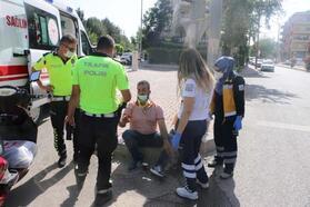 Adıyaman'da elektrikli bisiklet devrildi: 2 yaralı