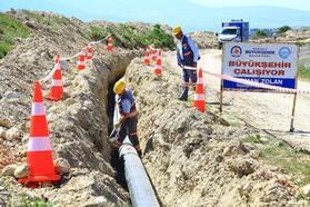 Denizli'de 6 mahallenin içme suyu ihtiyacı için bin tonluk su deposu yapıldı