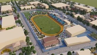 Midyat'ta çok amaçlı spor kompleksinin inşası başlıyor