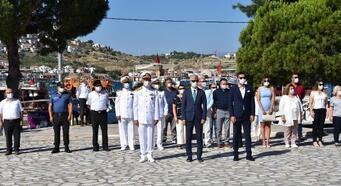 Foça'da Denizcilik ve Kabotaj Bayramı'na buruk kutlama