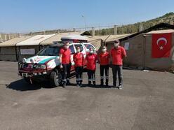 Trabzon UMKE ekibi Cilvegözü sınır kapısında