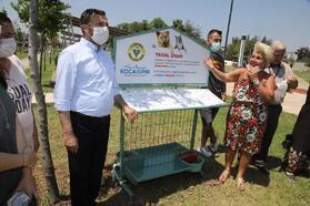 Yüreğir Belediyesi, sokak hayvanları için suluk ve mamalık üretimine başladı