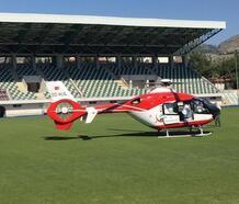 Ambulans helikopter Sabiha bebek için havalandı