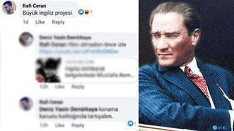 Atatürk aleyhine paylaşım yapan astsubay hakkında flaş gelişme
