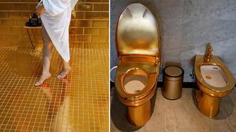 24 ayar altın kaplamalı otel Vietnam'da açıldı!