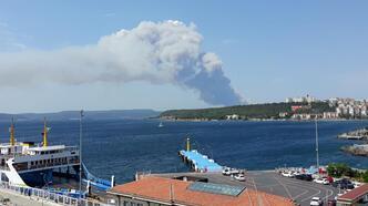 Son dakika... Çanakkale'de orman yangını! Çok sayıda ekip bölgeye sevk edildi