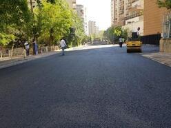 Bağcılar Mahallesi'nde asfalt çalışması sürüyor